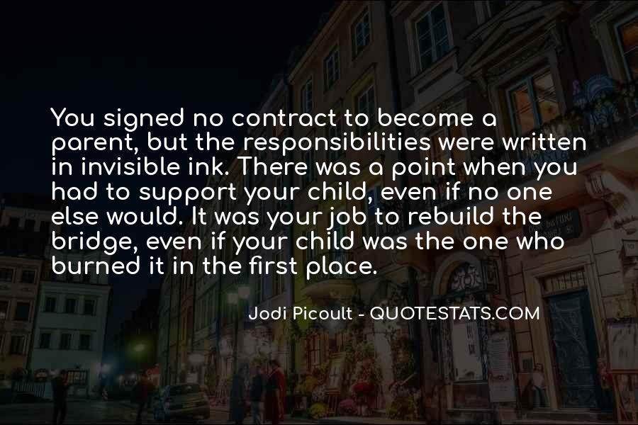 Your First Child Quotes #1396476