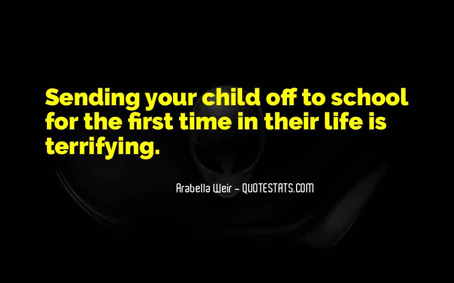 Your First Child Quotes #1555923