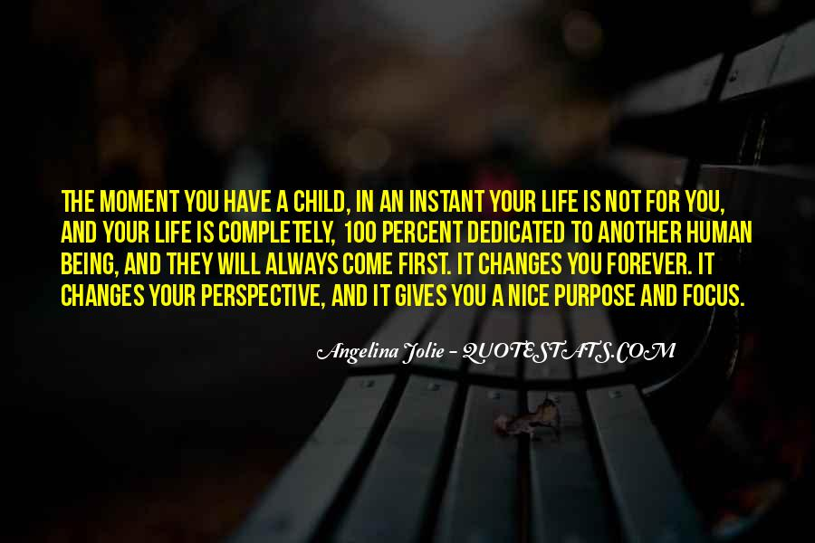 Your First Child Quotes #537543