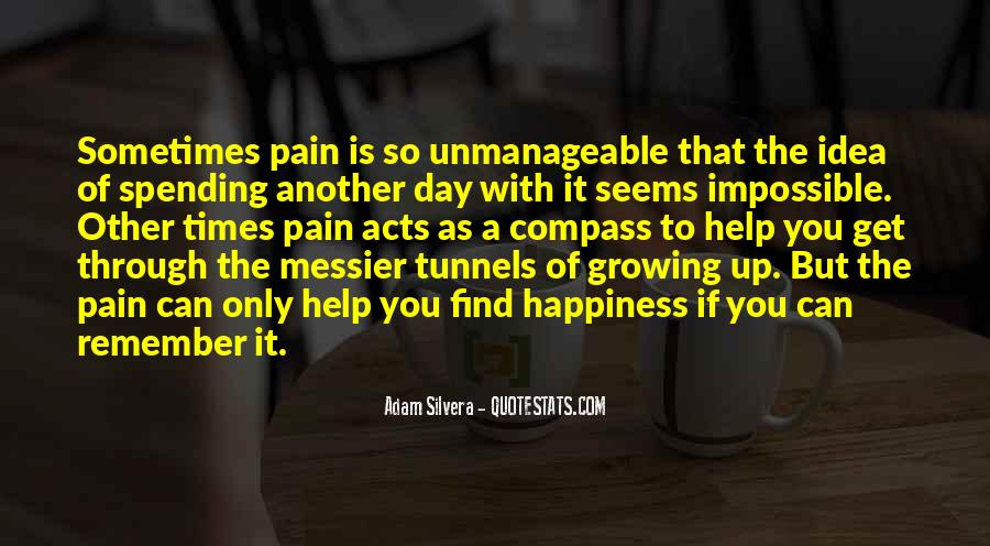 Your Happiness Is My Pain Quotes #82491