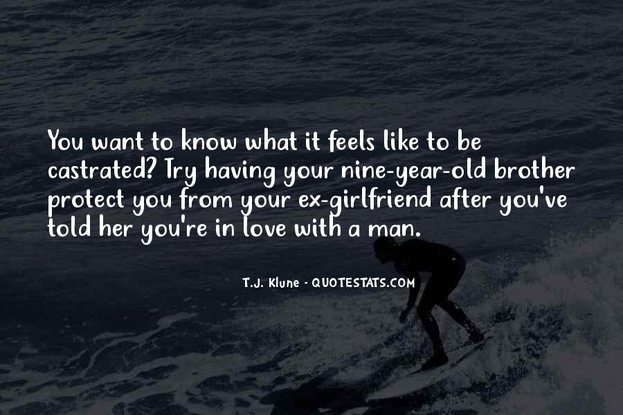 Your In Love With Her Quotes #1123265