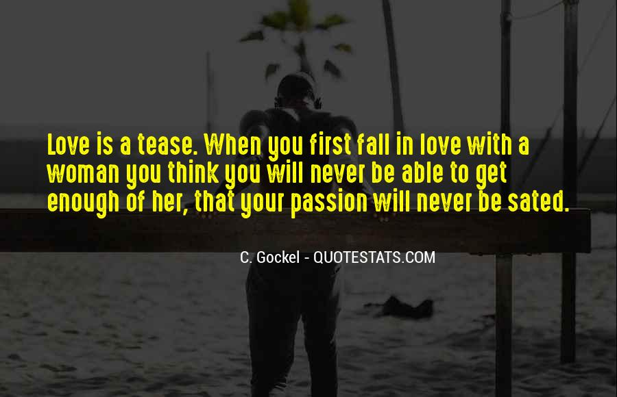 Your In Love With Her Quotes #1655668