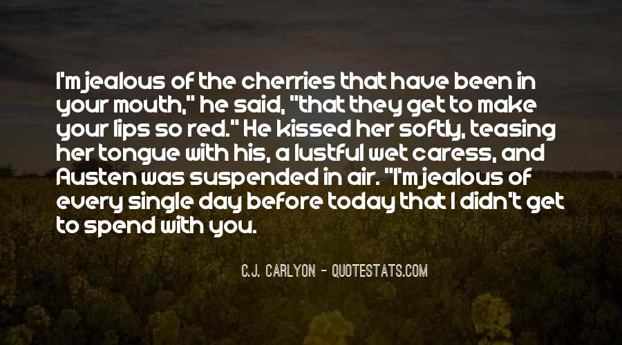 Your In Love With Her Quotes #1821017