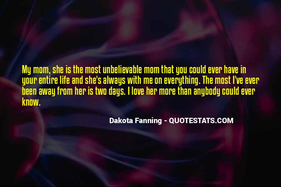 Your In Love With Her Quotes #196276