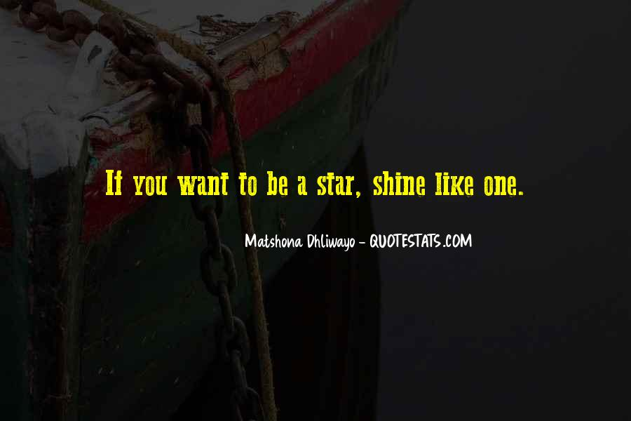 Your Like A Star Quotes #942411
