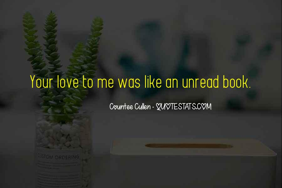 Your Love To Me Quotes #102863