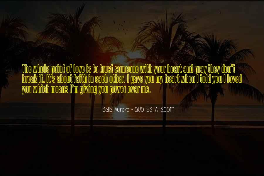 Your Love To Me Quotes #214891