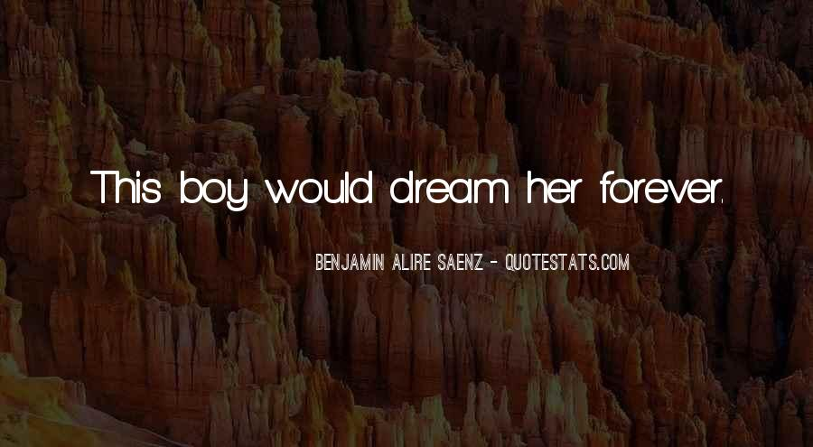 Your My Dream Boy Quotes #906220