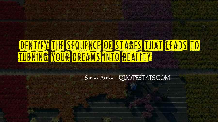Quotes About The Purpose Of Dreams #1089543