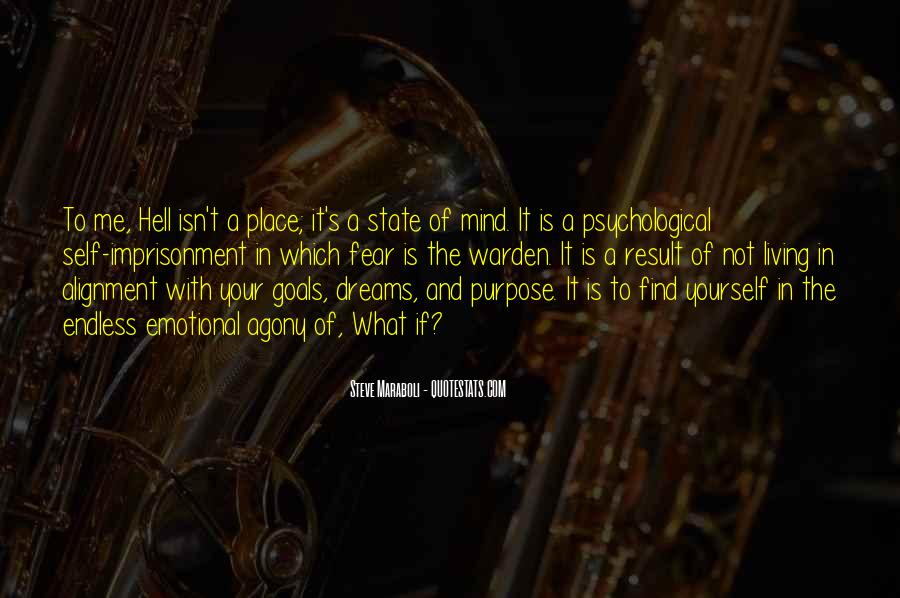 Quotes About The Purpose Of Dreams #295015