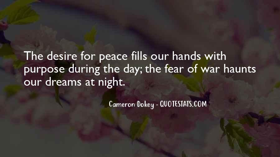 Quotes About The Purpose Of Dreams #663942