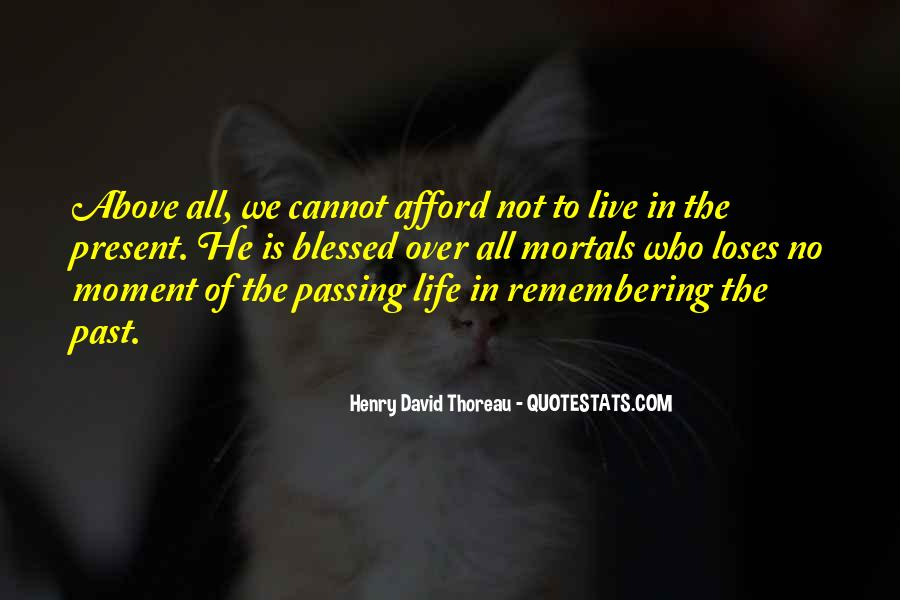 Quotes About Not Remembering The Past #1645002