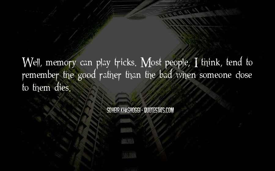 Quotes About Not Remembering The Past #50101