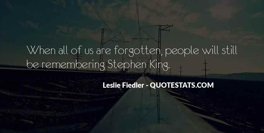 Quotes About Not Remembering The Past #74357