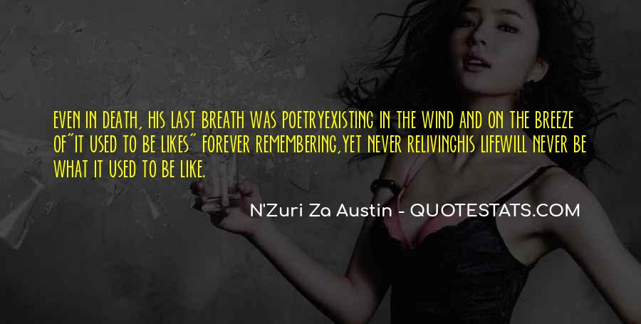 Quotes About Not Remembering The Past #80702