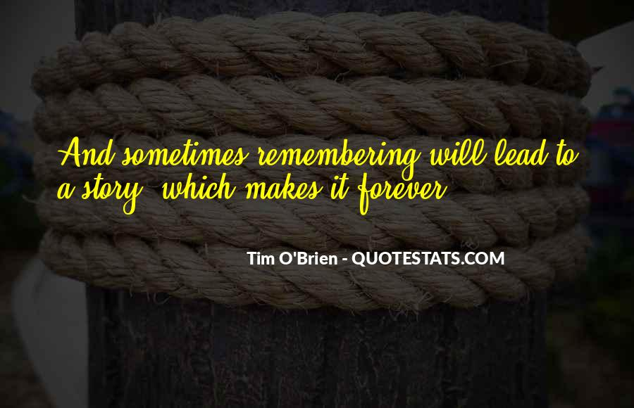 Quotes About Not Remembering The Past #81406