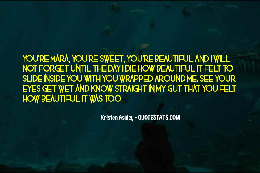 Your Not Beautiful Quotes #427535