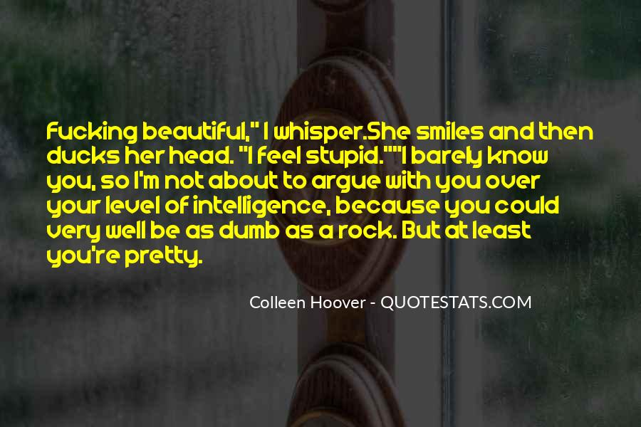 Your Not Beautiful Quotes #921489