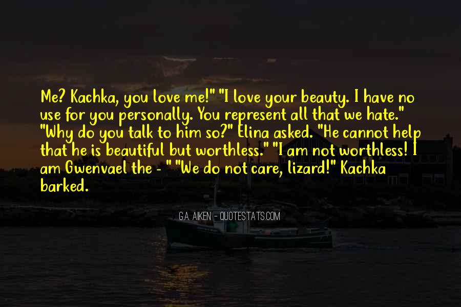 Your Not Beautiful Quotes #951443