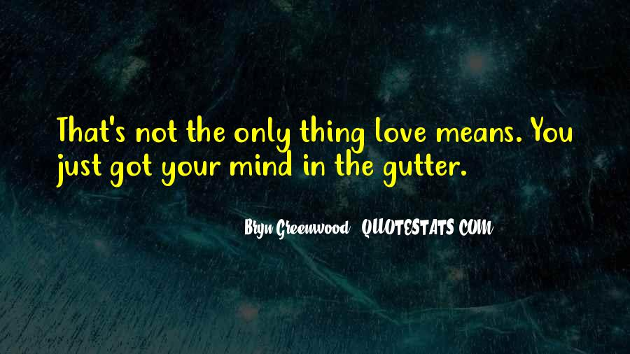 Your Not In Love Quotes #87978