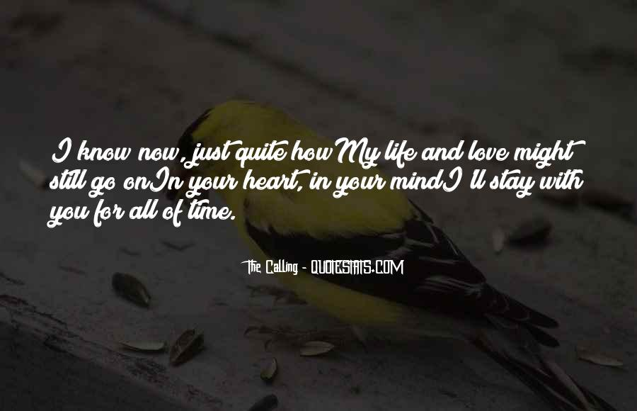 Your On My Mind Love Quotes #1223871