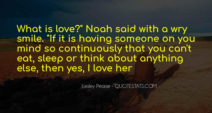 Your On My Mind Love Quotes #14832