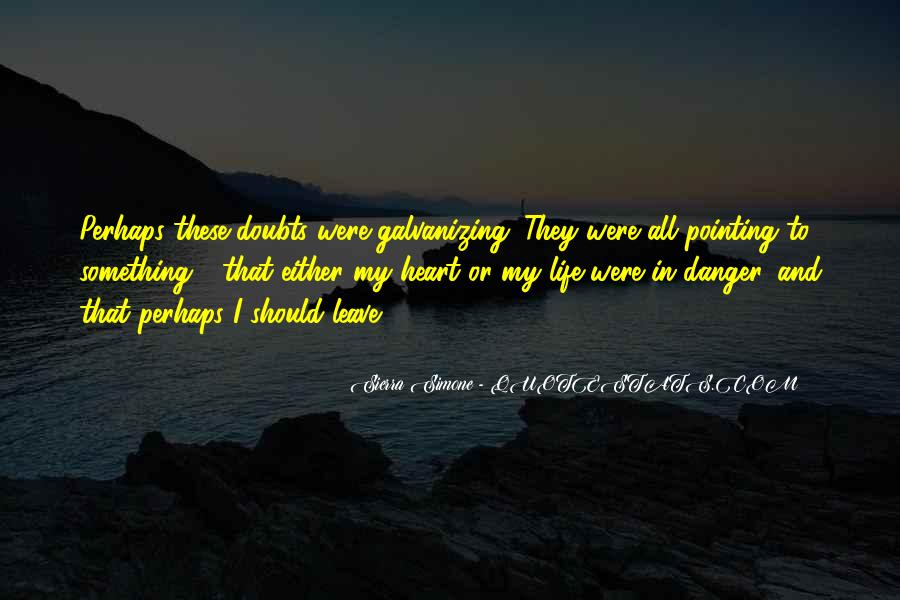 Quotes About Doubts In Life #1521134