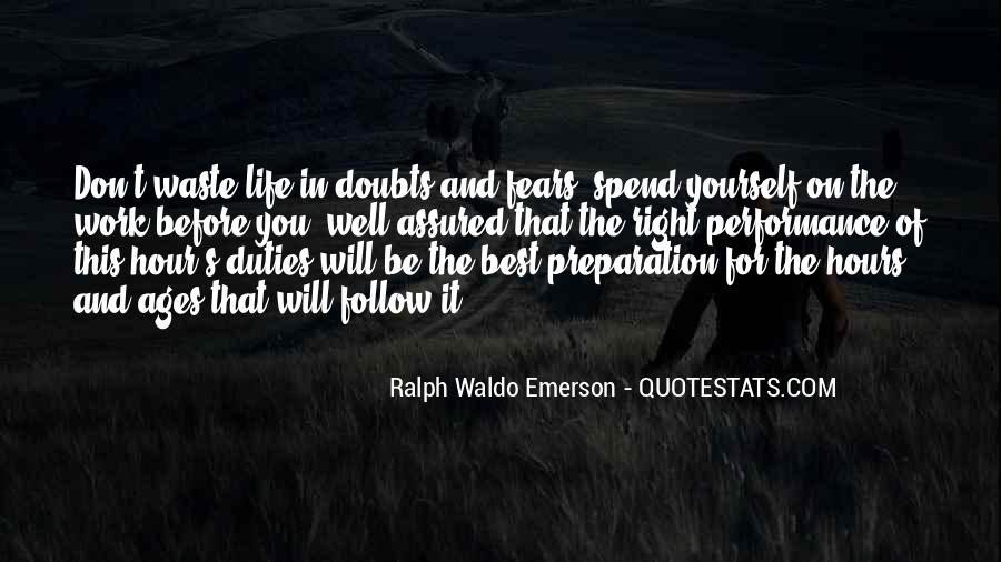Quotes About Doubts In Life #755029