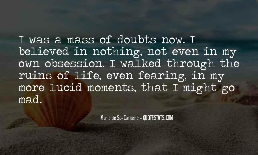 Quotes About Doubts In Life #995929