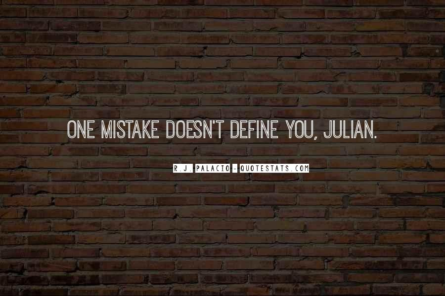 Your Past Doesn't Define You Quotes #39001