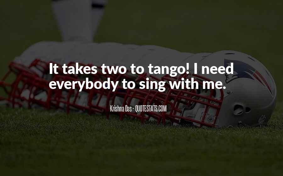 Your Tango Quotes #28627