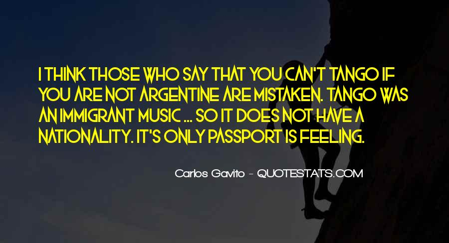 Your Tango Quotes #526498