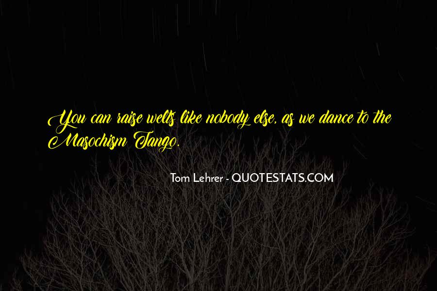Your Tango Quotes #6474