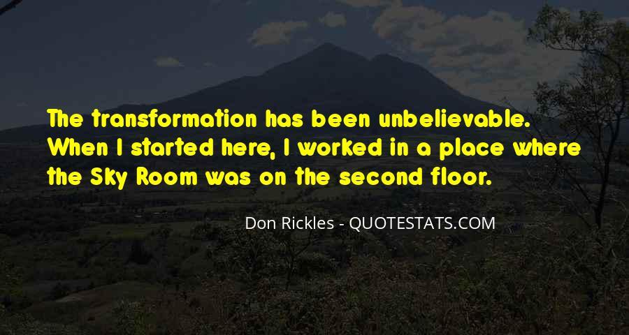 Your Unbelievable Quotes #127897