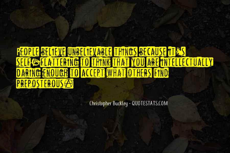 Your Unbelievable Quotes #138197