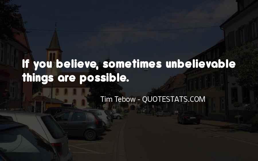 Your Unbelievable Quotes #139448