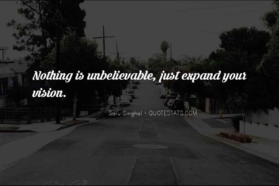 Your Unbelievable Quotes #287750
