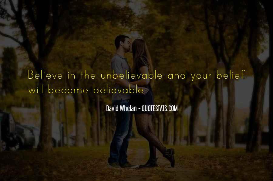 Your Unbelievable Quotes #834275