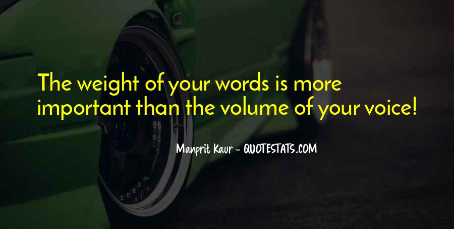 Your Voice Is Important Quotes #1455889
