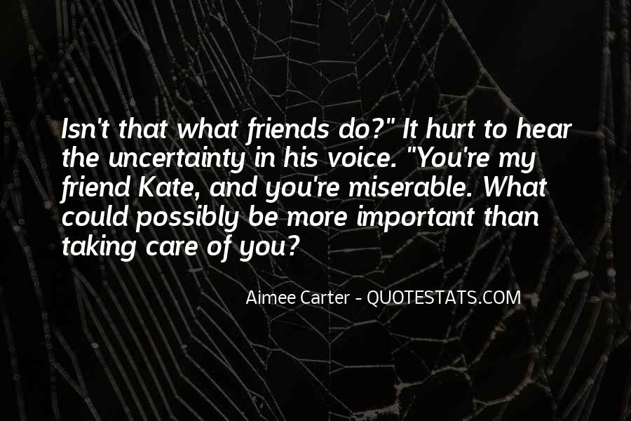 Your Voice Is Important Quotes #165136