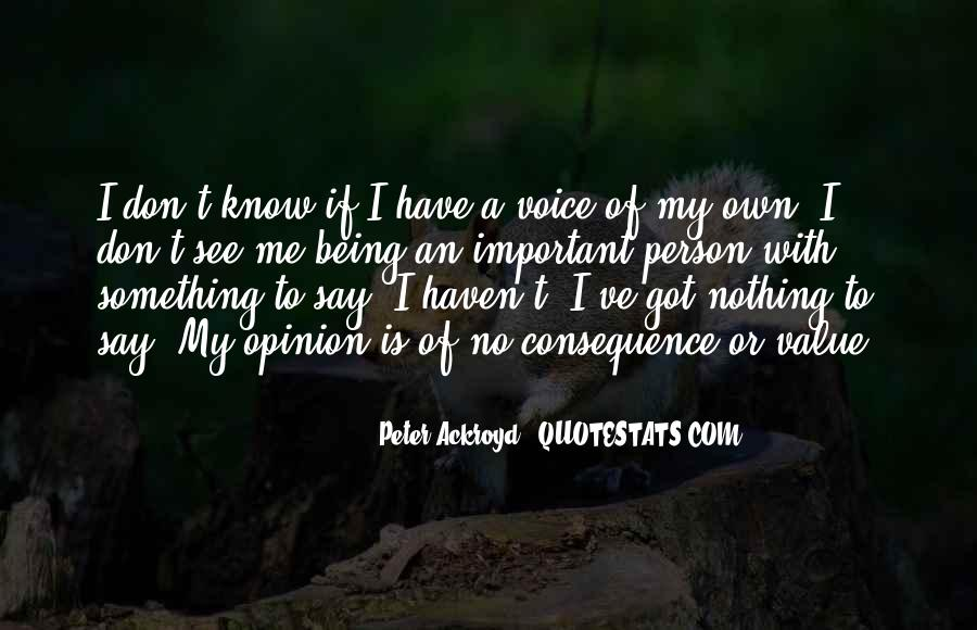 Your Voice Is Important Quotes #357362