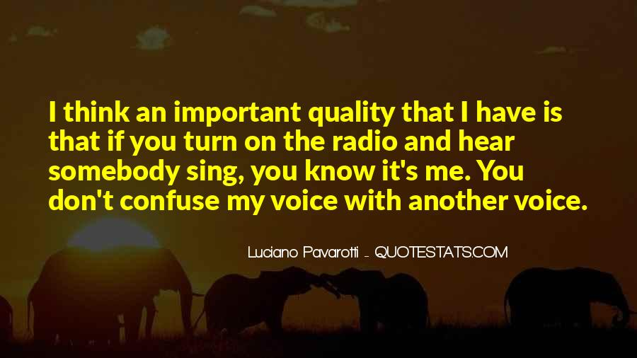 Your Voice Is Important Quotes #596133