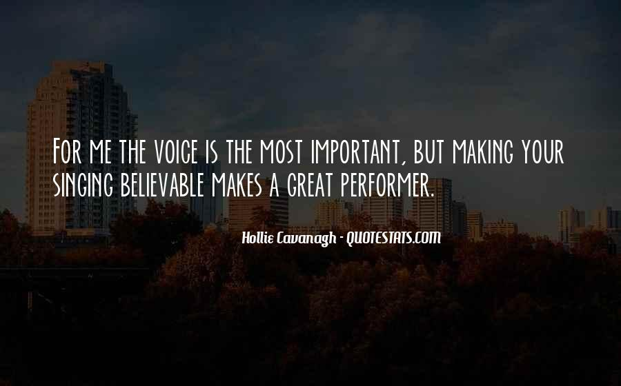Your Voice Is Important Quotes #738194
