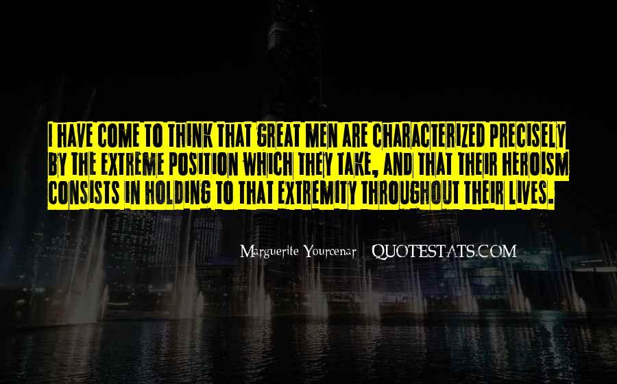 Yourcenar Marguerite Quotes #475570