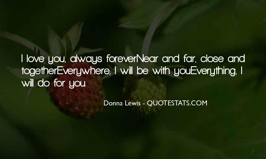 Yours Forever Love Quotes #95435