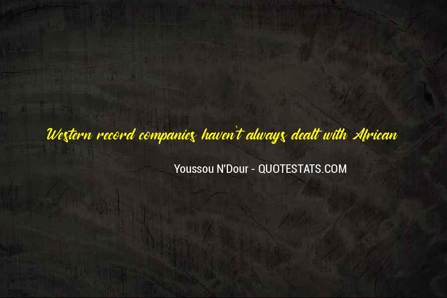 Youssou N'dour On Quotes #772006