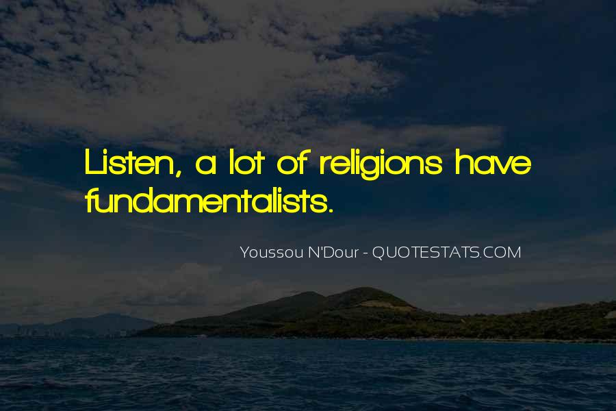 Youssou N'dour On Quotes #922532