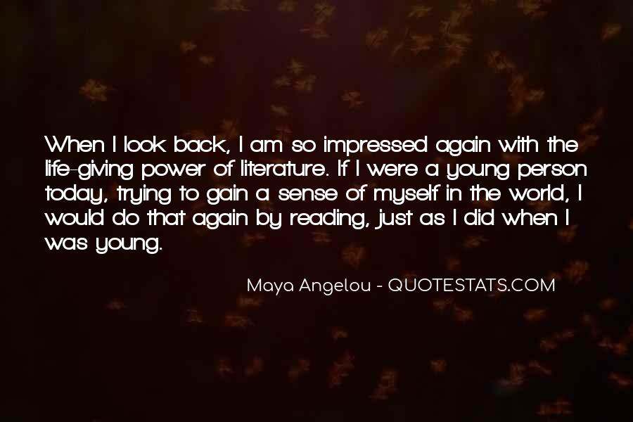 Youth Giving Back Quotes #784608