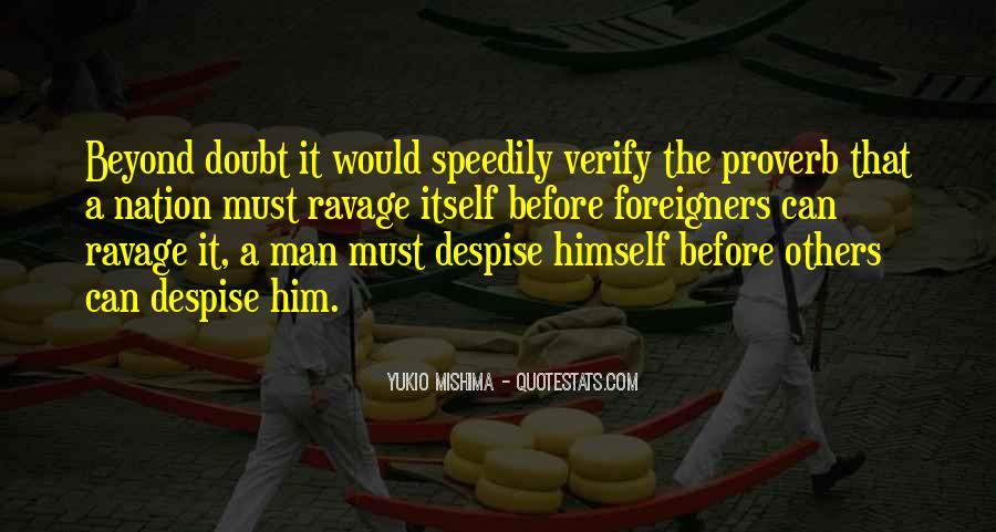 Yukio Mishima Patriotism Quotes #437367
