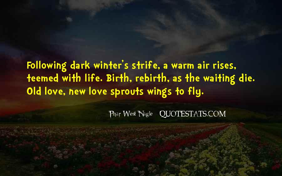 Quotes About Spring New Life #13733
